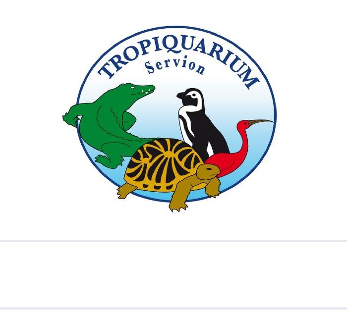 Tropiquarium de Servion logo